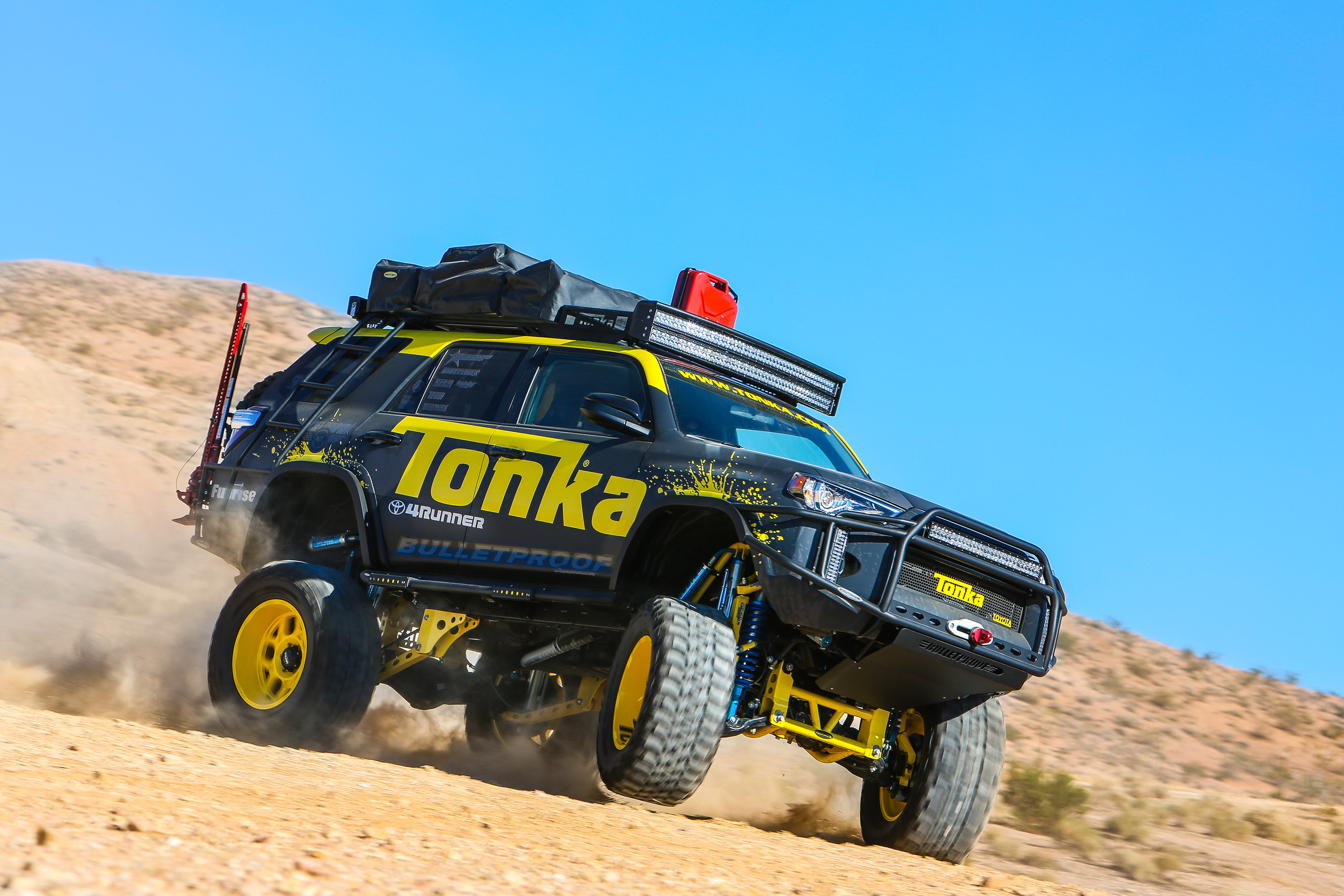 4runner Tonka Trucks Stretch Tundras And Souped Up Vans